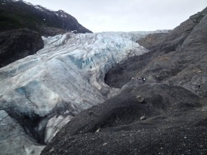 Exit Glacier, as it stands today.