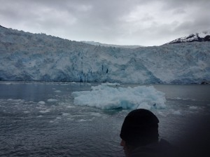 The glacier I saw on the boat tour