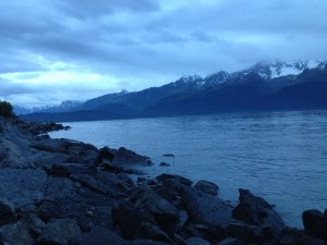 Seward sunset