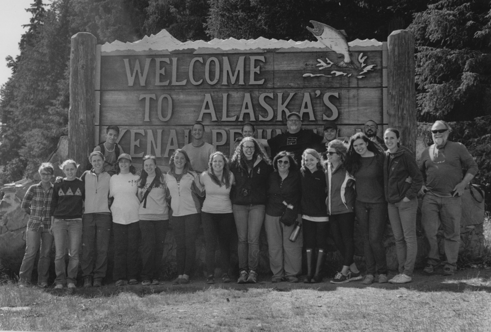 Alasks 2014 on our way to the Kenai Peninsula.
