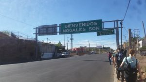 Entrance to Mexico