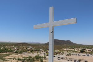 Cross over the land Tucson, Arizona
